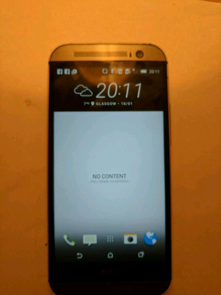 HTC One M8 Grey 16gbin Clarkston, GlasgowGumtree - Just changed this phone after 22 months and renewed contract so my M8 is available with charger ( on EE) plus packaging but no earphones. 2 issues with it, hairline crack across screen top left quarter diagonally and when using google maps recently a...
