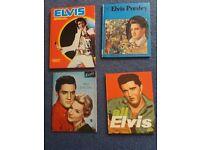 2 Elvis monthly specials,1 Daily Mirror book,1 Great lives Elvis Presley book..