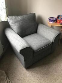 Arm chair ( Fabric)