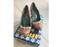 Irregular Choice Cortesan Ribbon Flower High Herl