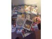 PlayStation three. Games and three pads