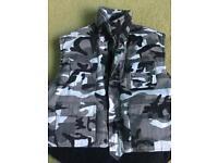 Kids' Grey Army Vest