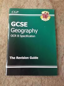 GCSE geography book