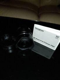 M .Zuiko digital.. ED 8mm f1.8 fisheye PRO