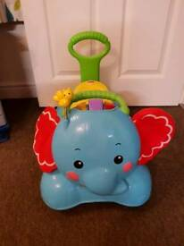 Fisher Price 3-in-1 Bounce, Stride and Ride Elephant