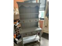 Shabby Chic Pine Kitchen Dresser