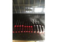 Snap On Torx Screwdriver 12 Piece Set Good Condition