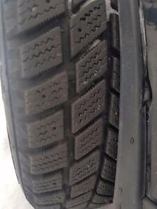 Nissan Versa HANKOOK Winter Tires and Rims - Almost New