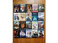 Joblot 20 original dvds region 2 uk carboot bargain