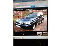 GOOD CONDITION LAND ROVER FREELANDER FOR SALE