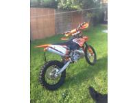 KTM 200 EXC 2009 Factory edition