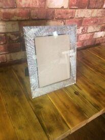 Sparkly Silver Photo Frame _ New - 33 cm x 18 cm