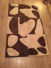 Brown and Cream Quality Rug