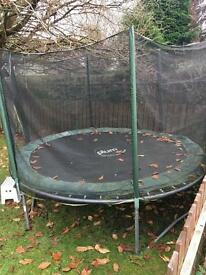 Large Trampoline 10 foot diameter great condition