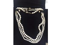 Fresh Water pearl necklace.(H Stern)