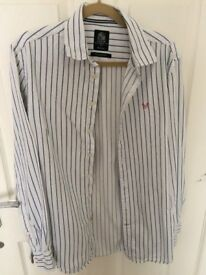 CREW CLOTHING tailored mens shirt size medium used in good condition !