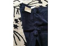 New Ladies Navy Chinos