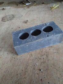 Large quantity of Ibstock Staffordshire blue brick