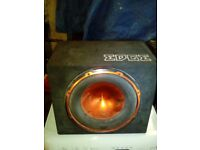2 GREAT WORKING CAR SUBWOOFERS 900 WATTS
