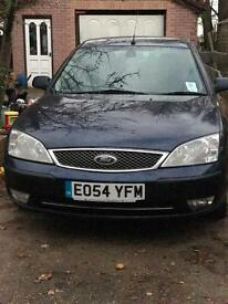 Ford mondeo ghia diesel satnav 6 speed**still available **