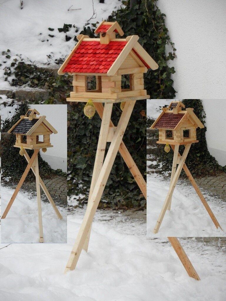 Futtersilo Futterhaus Schreinerware Holz Vogelfutter Vogelhaus Vogelvilla XXXL