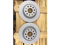Vw golf rear brake discs