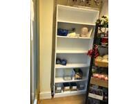 White Bookcases x 2