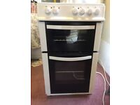 Logik 50cm free standing double cooker