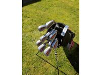 Full set of Irons & Bag with stand