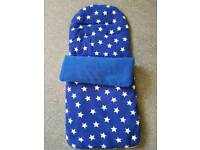 Blue Star Foot Muff/ Cosy Toes