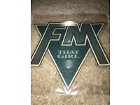"FM 7""Shaped Picture Disc"