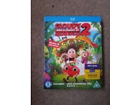Cloudy with a chance of meatballs 2 blu-ray.