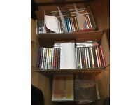 200ish CDs, many genre's from Classical to rock albums