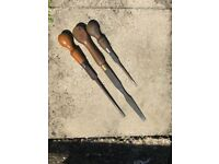 Antique Vintage Screwdrivers Shabby Chic Collectable