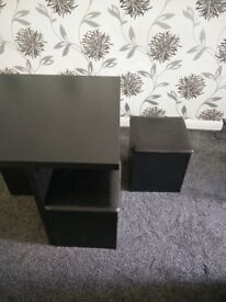 Small Square Dining Table + 4 Buffets