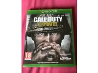 Call of duty ww2 brand new sealed