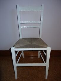 Small Chair with Rush Bottom Seat