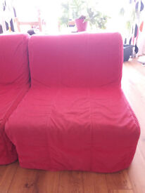 Ikea Lycksele Chair-beds