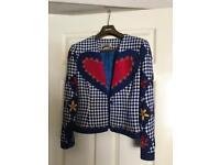 IDOL women's vintage heart retro jacket