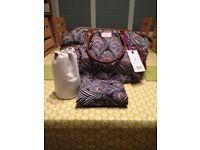 Mamas and papas Liberty parker tote changing bag