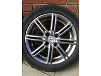 "15"" Fox racing alloys from an astra x4"