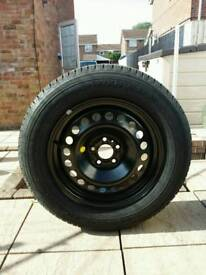 Jeep cherokee 2014 onwards spare wheel/tyre