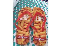 Novelty flip flops