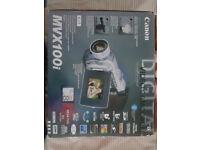 Canon MVX100i Camcorder Boxed Practically New