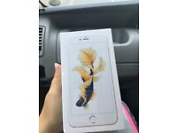 iPhone 6s Plus in silver brand new