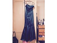 Ladies cocktail dress size 12. Bottle green from Coast. Fishtail style