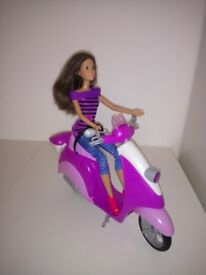 Barbie Glam Scooter - purple