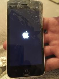 iPhone 5c white 8g