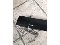 Excellent condition Sony woofer and sound bar for cinema sound