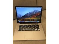MacBook Pro Retina Mid 2012 2.3 GHz i7 8GB DDR3 256 SSD Graphics: Intel HD4000 and Nvidia GT 650M